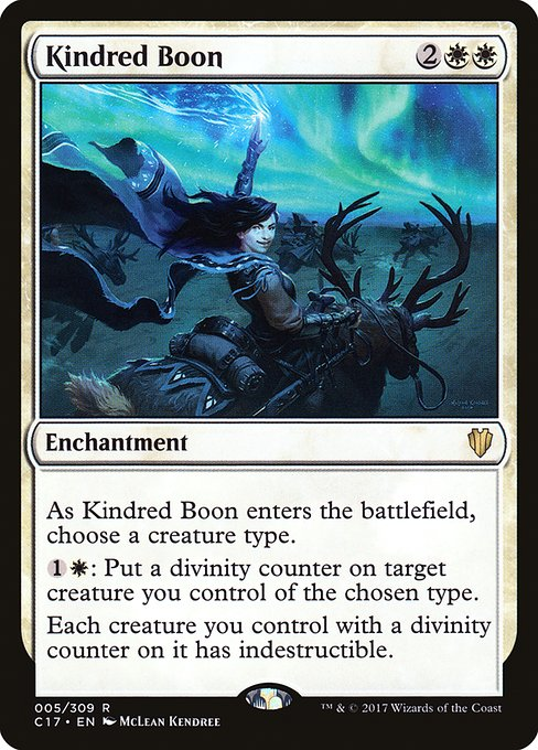 Kindred Boon (C17)