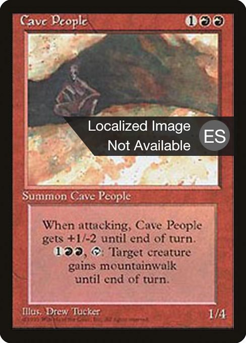 Cave People (4BB)