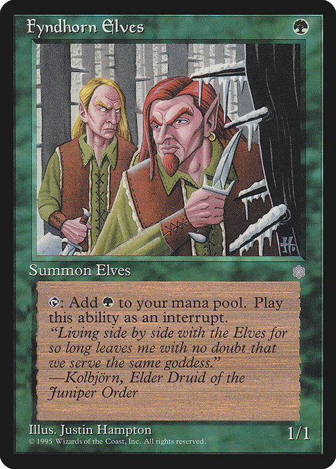 Fyndhorn Elves (ICE)