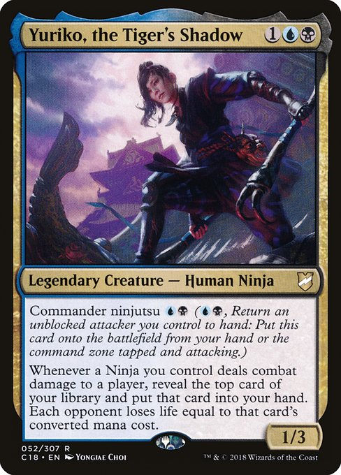 Yuriko, the Tiger's Shadow (C18)