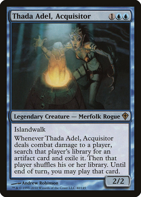 Thada Adel, Acquisitor (WWK)