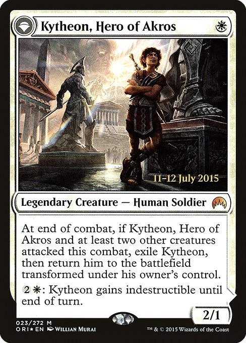 Kytheon, Hero of Akros // Gideon, Battle-Forged (PORI)