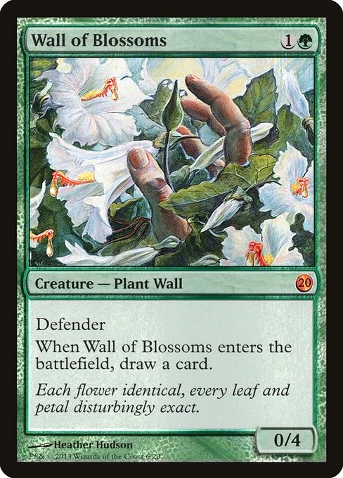 Wall of Blossoms (V13)