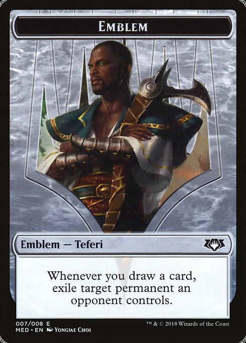 Teferi, Hero of Dominaria Emblem (TMED)