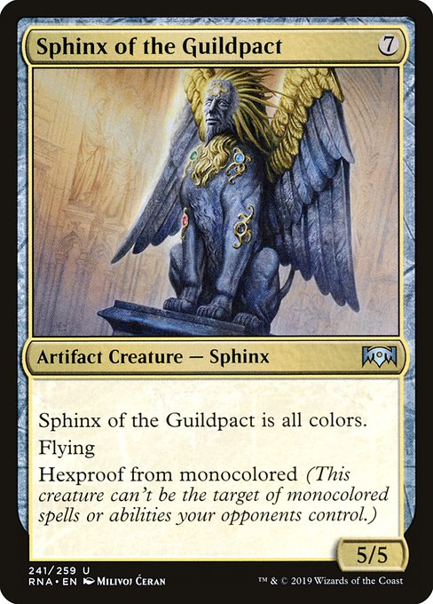 Sphinx of the Guildpact (RNA)