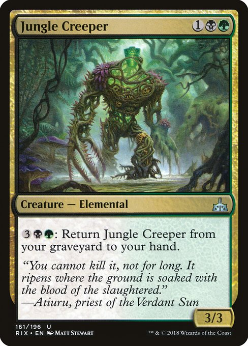 Jungle Creeper (RIX)