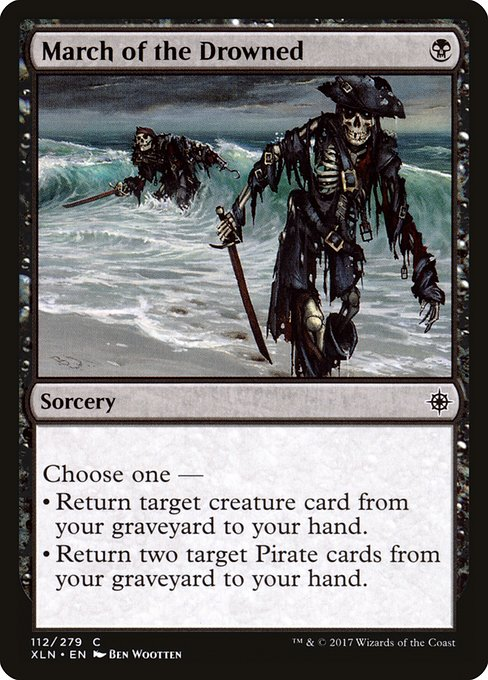 March of the Drowned (XLN)