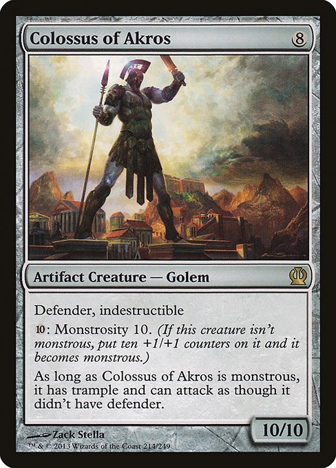 Colossus of Akros (THS)