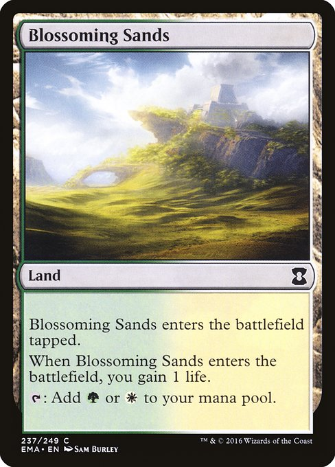 Blossoming Sands (EMA)