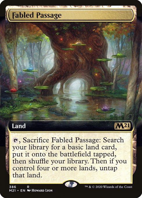 Fabled Passage (M21)