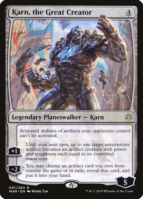 Karn, the Great Creator - Magic: the Gathering