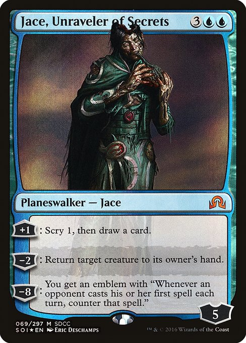 Jace, Unraveler of Secrets (PS16)