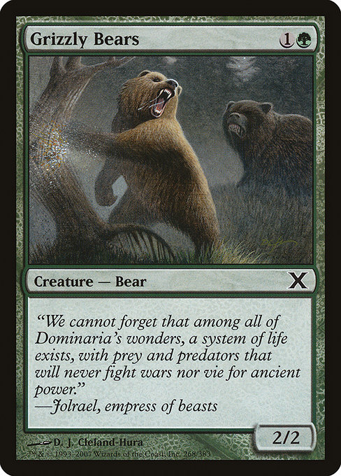 Grizzly Bears (10E)