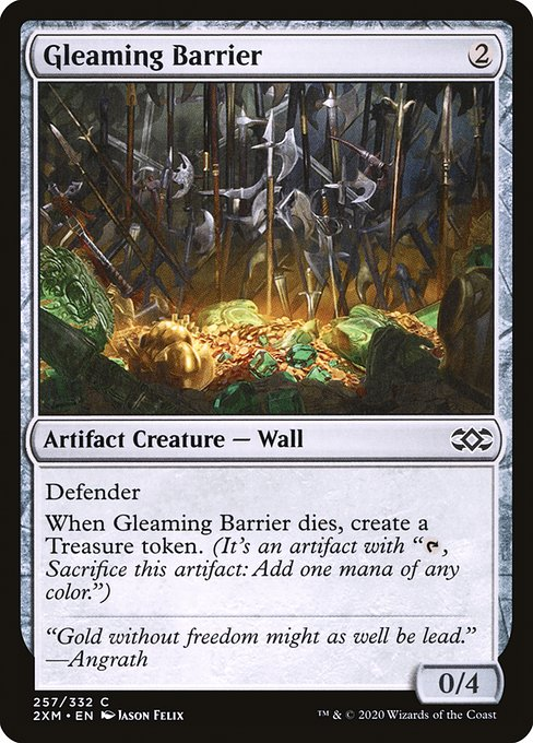 Gleaming Barrier (2XM)