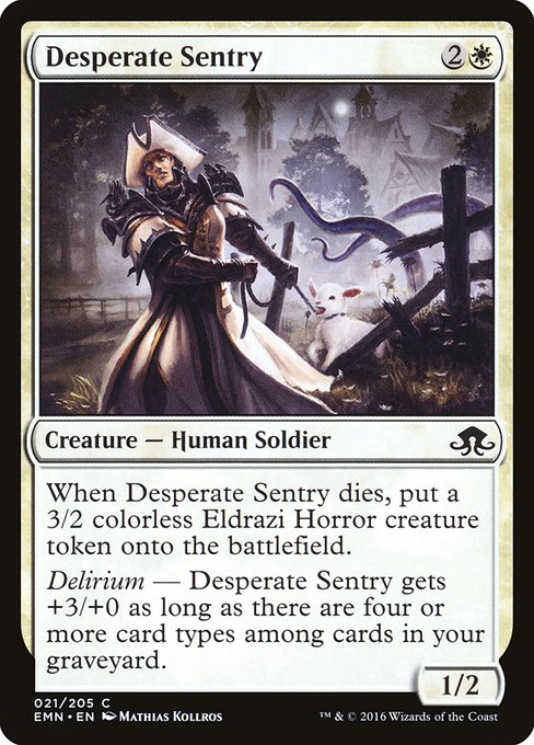 Desperate Sentry (EMN)