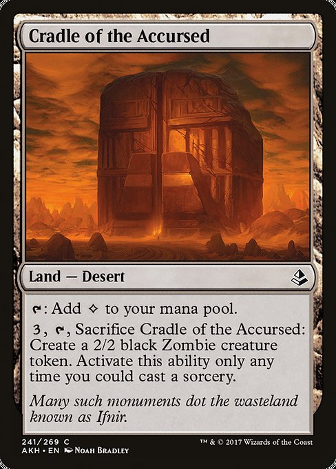 Cradle of the Accursed (AKH)