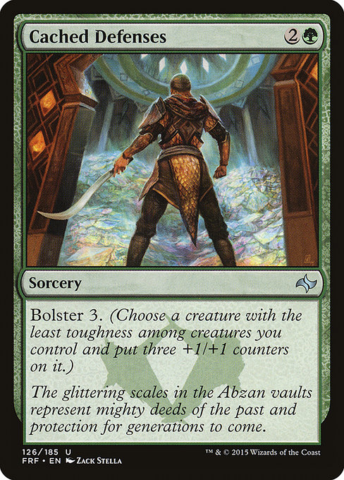 Cached Defenses (FRF)