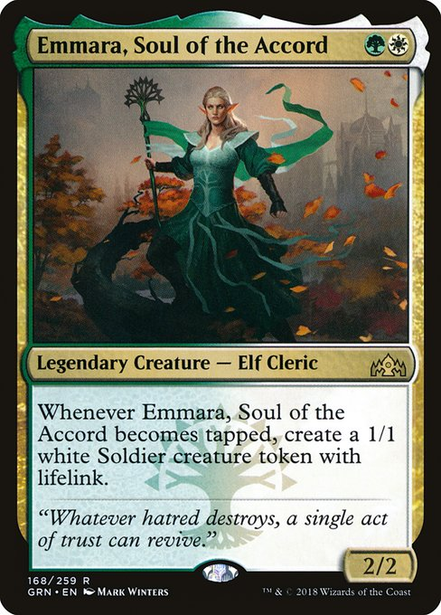 Emmara, Soul of the Accord (GRN)
