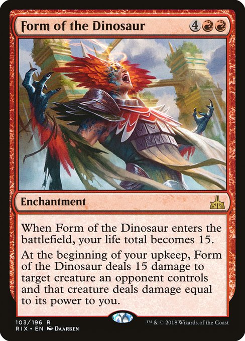 Form of the Dinosaur (RIX)