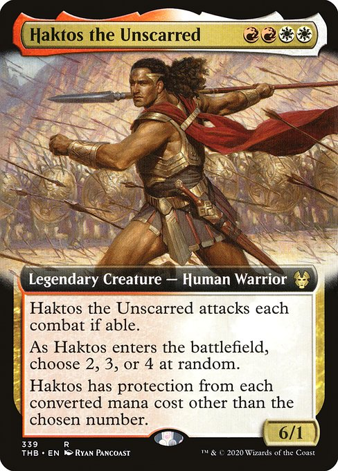 Haktos the Unscarred (THB)