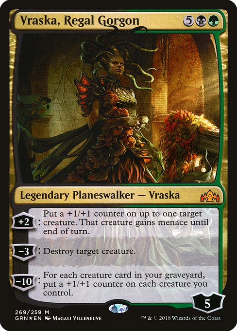 Vraska, Regal Gorgon (GRN)