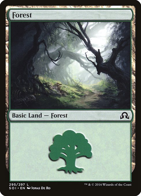 Forest - Shadows over Innistrad