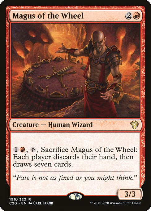 Magus of the Wheel (C20)
