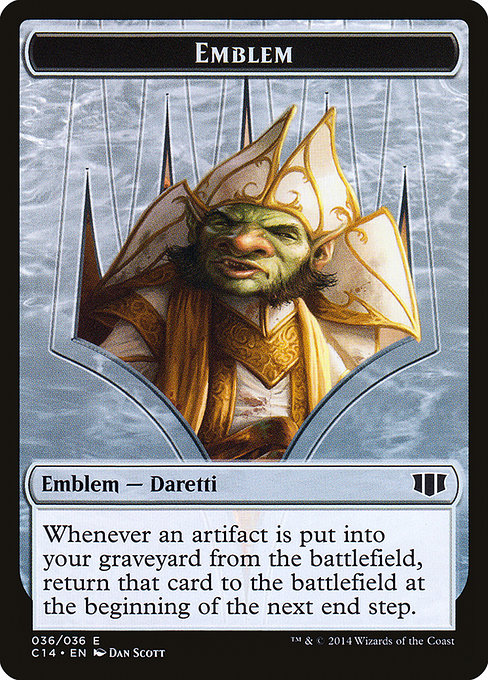 Daretti, Scrap Savant Emblem (TC14)