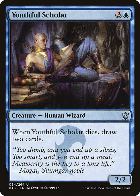 Youthful Scholar (DTK)