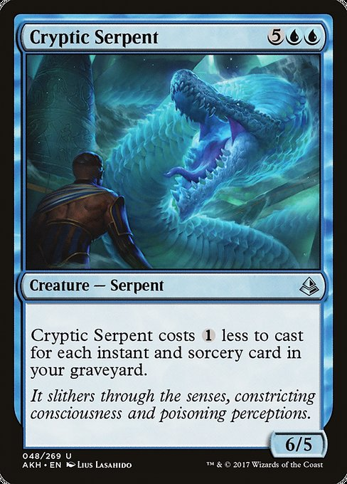 Cryptic Serpent (AKH)