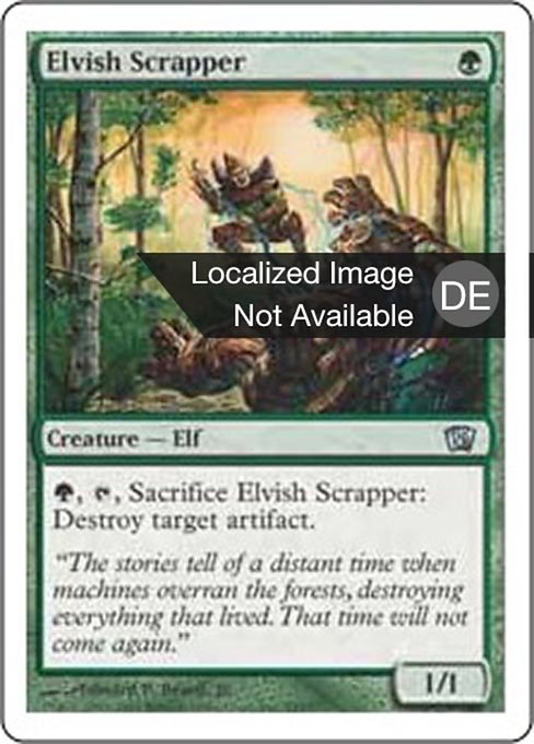 Elvish Scrapper (8ED)