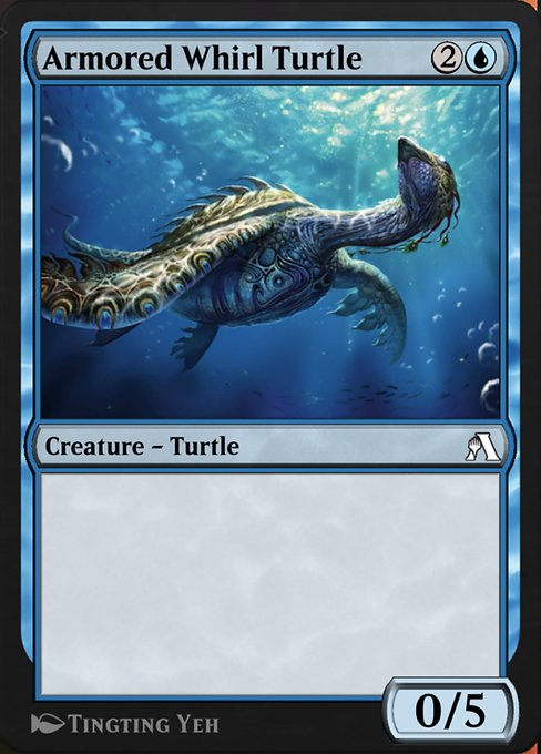 Armored Whirl Turtle (ANB)