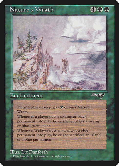 Nature's Wrath (ALL)