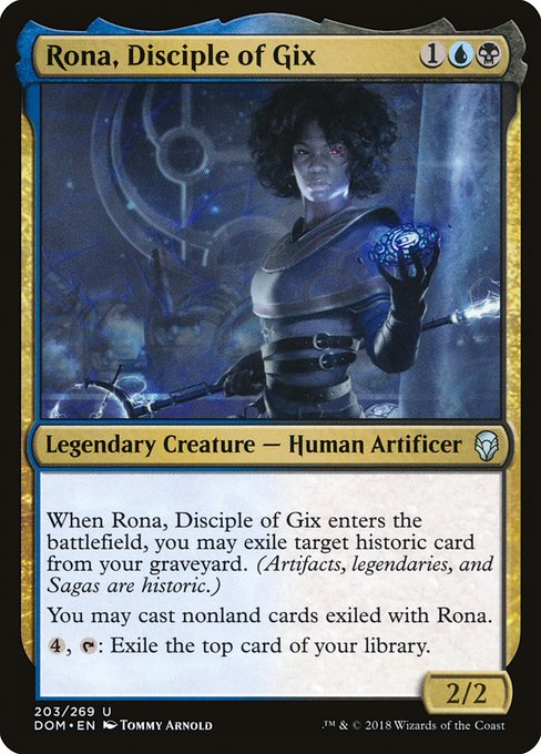 Rona, Disciple of Gix (DOM)