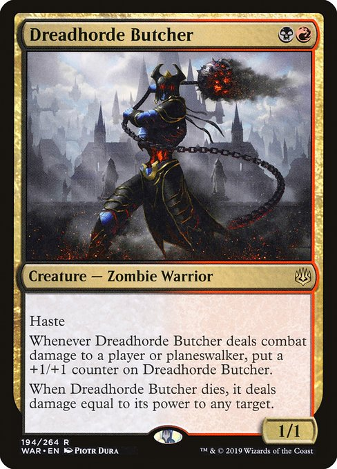 Dreadhorde Butcher (WAR)