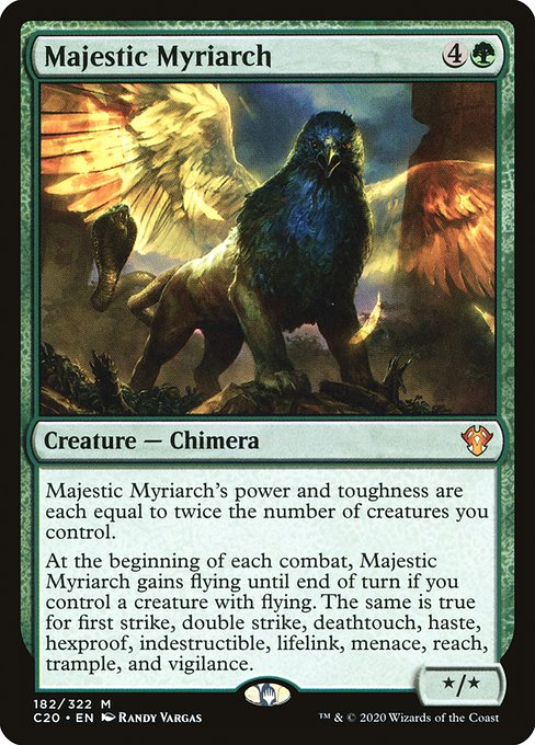 Majestic Myriarch (C20)