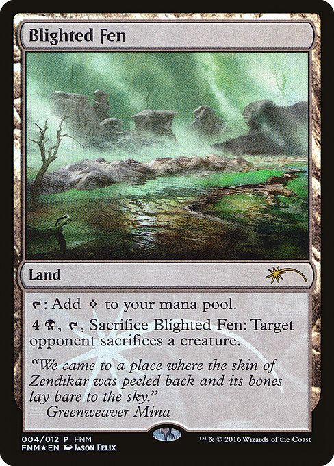 Blighted Fen (F16)