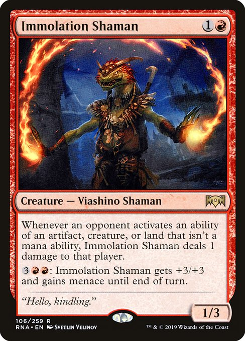 Immolation Shaman (RNA)
