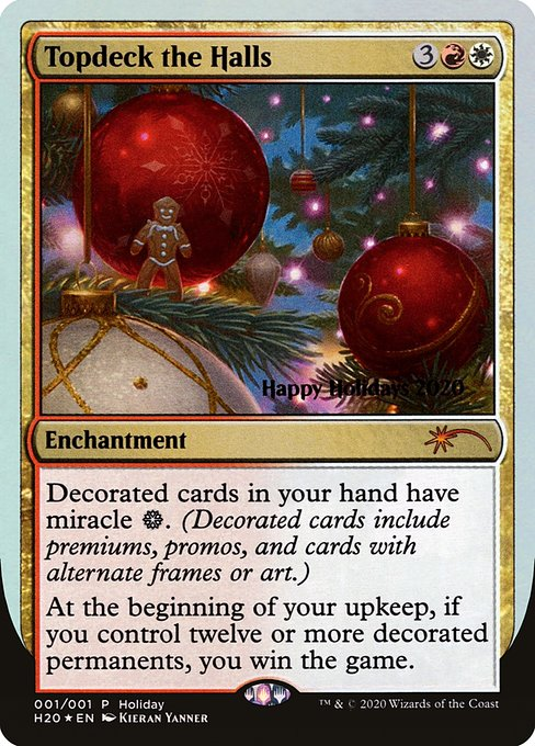 Topdeck the Halls (HHO)