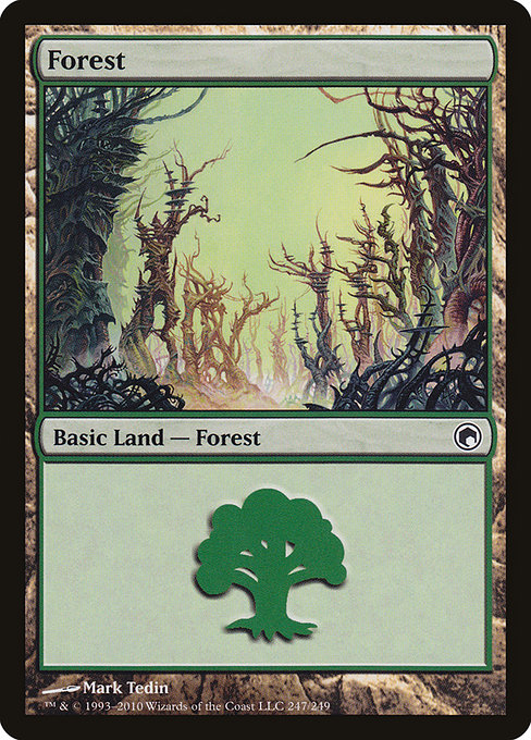 Forest - Scars of Mirrodin