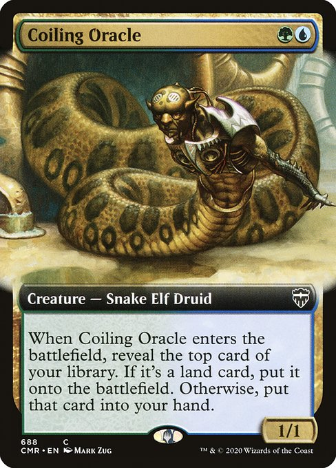Coiling Oracle (CMR)