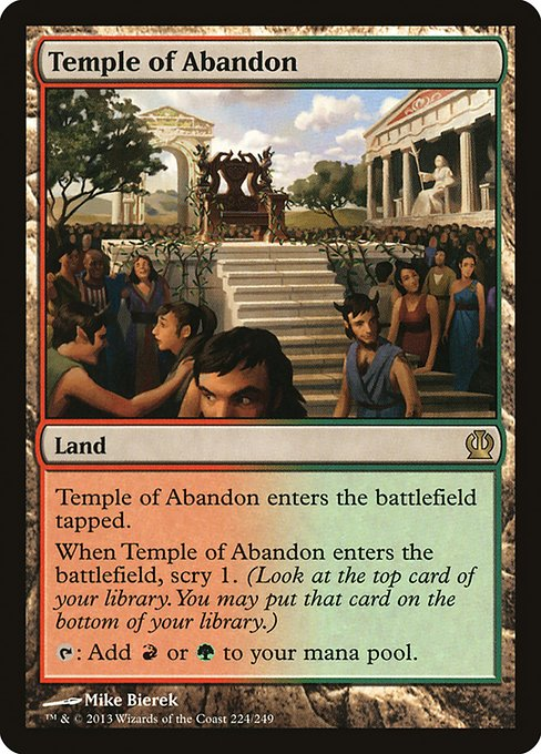 Temple of Abandon (THS)