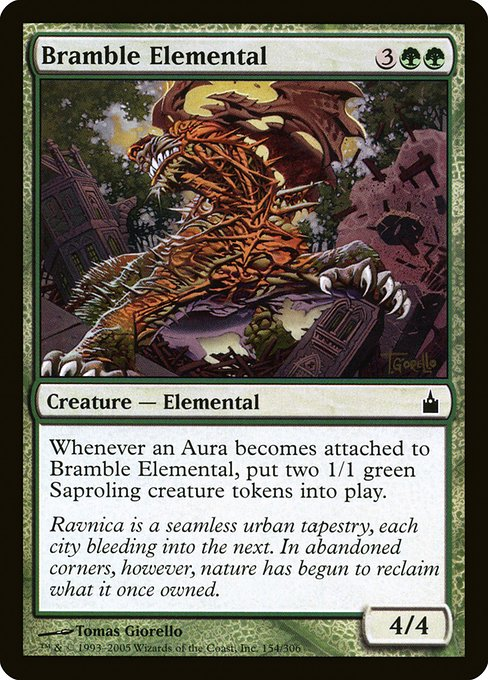 Bramble Elemental (RAV)