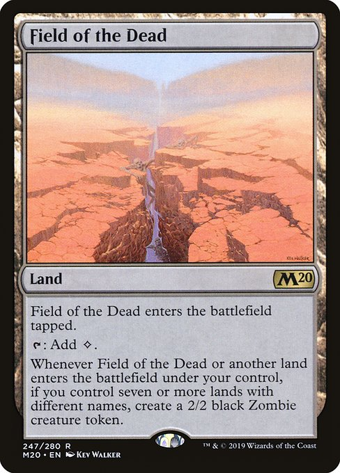 Field of the Dead - Magic: the Gathering
