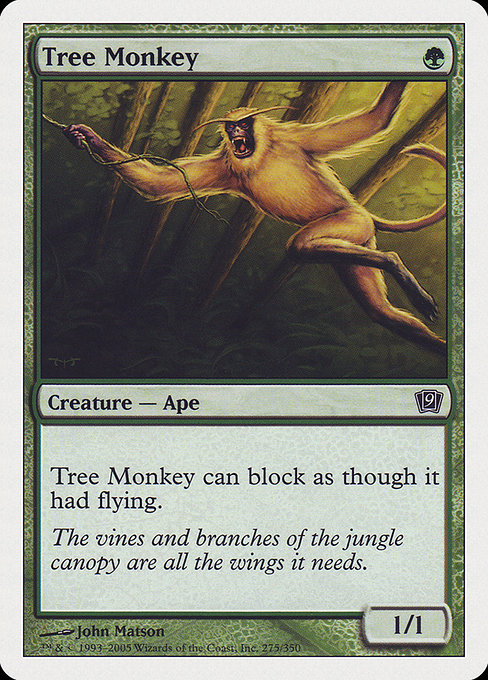 Tree Monkey (9ED)