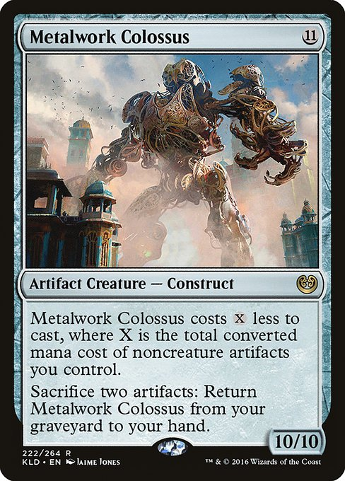 Metalwork Colossus (KLD)