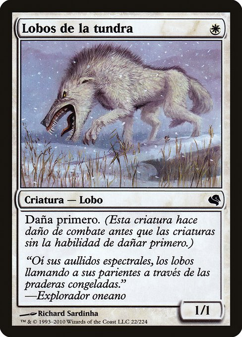 Tundra Wolves (PS11)