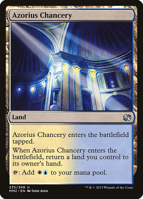 Azorius Chancery (MM2)