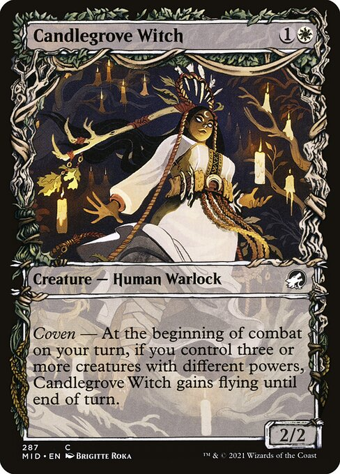 Candlegrove Witch – Showcase (Innistrad: Midnight Hunt)