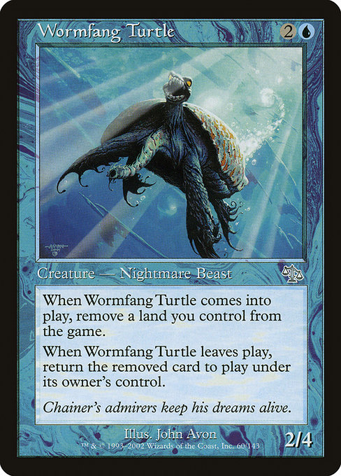 Wormfang Turtle (JUD)